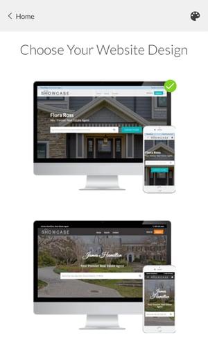 Constellation1 Websites - Choose a design