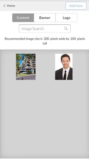 Constellation1 Websites - Manage images