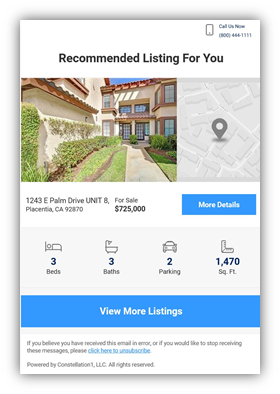 Recommended Properties Screenshot